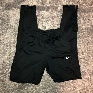 Nike black dry fit joggers